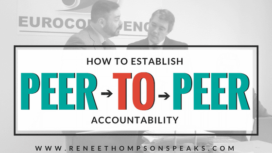 How to Establish Peer-to-Peer Accountability
