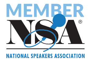 nsa speaker badge for nursing keynote speaker