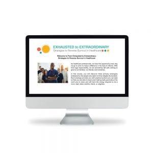 nurse burnout online course