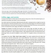 CoffeeEggsCarrots