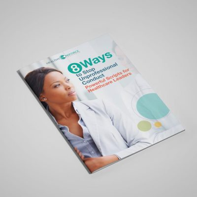 how to stop unprofessional conduct in healthcare guide